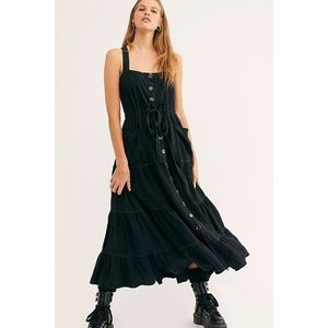 NWT Free People Catch The Breeze Midi Dress XS